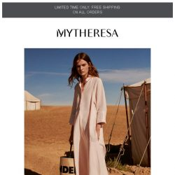 [mytheresa] Limited time free shipping + The dress code for Cruise 2019