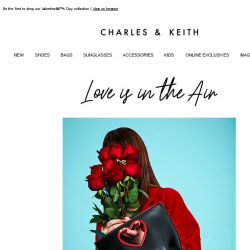 [Charles & Keith] An Exclusive Preview – Don't Miss This