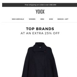 [Yoox] What's your favorite top brand?