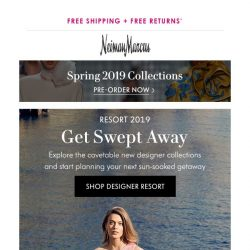 [Neiman Marcus] Memorable looks for your resort getaway