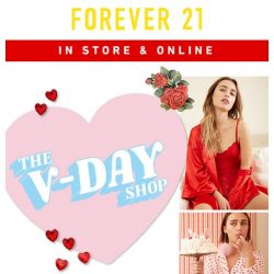 [FOREVER 21] Now Open: The Valentine's Shop