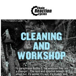 [Chain Reaction Cycles] 7-Step Guide for Less Wash, More Ride  ✨