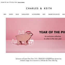 [Charles & Keith] Celebrate CNY With A Special Collection