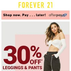 [FOREVER 21] WHO WEARS THE PANTS? YOU DO.