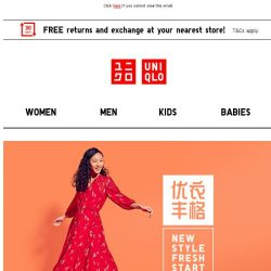 [UNIQLO Singapore] Stand To WIN A Year Of UNIQLO LifeWear!