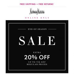[Neiman Marcus] 75% off end-of-season favorites