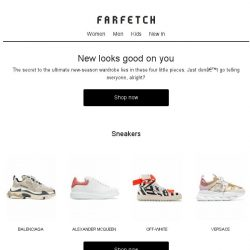 [Farfetch] Your new-season wardrobe needs these