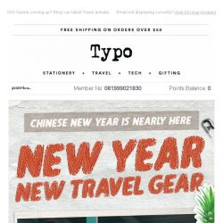[typo] Travel in style over CNY.