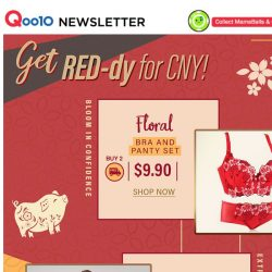 [Qoo10] Get RED-dy for CNY! Your perfect outfit awaits you!