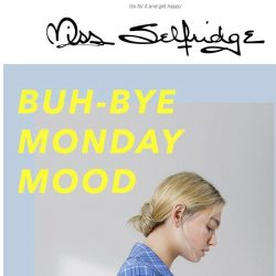 [Miss Selfridge] The only way to beat Blue Monday is a discount 😏