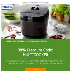 [PHILIPS] Prepare your favourite meals with ease this CNY