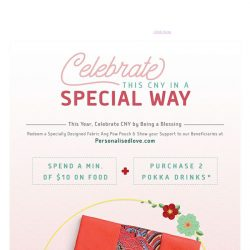 [BreadTalk] Redeem an Exclusive CNY Pouch