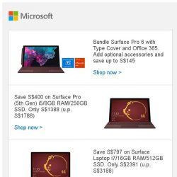 [Microsoft Store] CNY Sale: Great savings on Surface and Xbox