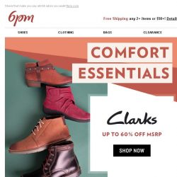 [6pm] Up to 60% off ahh-mazing comfort shoes!