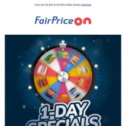 [Fairprice] NEW deals every day! 😍