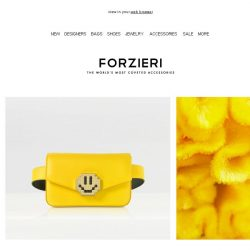 [Forzieri] Trend Report: A touch of Yellow
