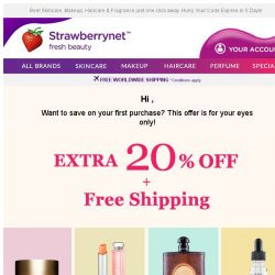[StrawberryNet] , Extra 20% Off + Free Shipping <-- For Your 👀 Only!