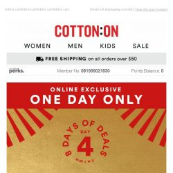 [Cotton On] Day 4: $28 Denim is HERE 🔥🔥 + more