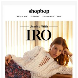 [Shopbop] IRO's got your off-duty looks covered