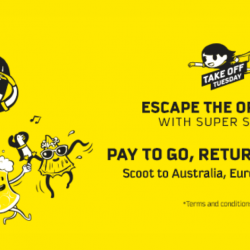 Scoot: Pay to Go & Return for FREE to Gold Coast, Melbourne, Athens, Honolulu & More!