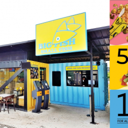 Big Fish Small Fish: Flash E-Coupons for $1 Dory Fish & Crisps, 50% OFF on 2nd Main Purchased & 1-for-1 for All Add-On Menu!