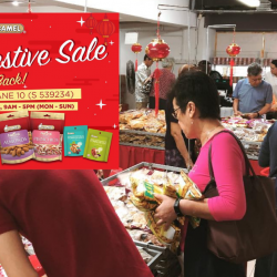 Camel Nuts: CNY Festive Sale 2019 with CNY Goodies & Snacks from SGD1!