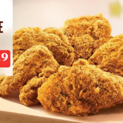 KFC: Get 5pcs of Goldspice Chicken at just $9.90!
