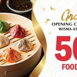 Paradise Dynasty: NEW Store Opening at Wisma Atria with 50% OFF Food Bill for Citibank Cardmembers & PGR Members