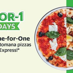 GrabFood: Get 1-for-1 Pizza from PizzaExpress Every Monday!