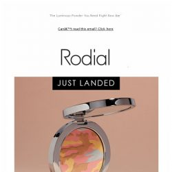 [RODIAL] New In: Looking For Complexion Perfection?