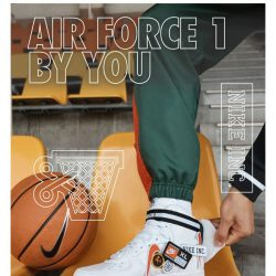 [Nike] Create your own Air Force 1 with custom badges