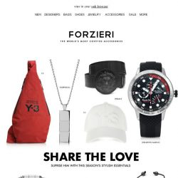 [Forzieri] Cupid's Gifts for Him