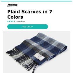 [Massdrop] Bronte by Moon Merino Lambswool Scarves: Proudly Made in Great Britain for $19.99