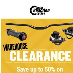 [Chain Reaction Cycles] Components Overhaul: 50% Off