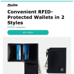 [Massdrop] A&H Leather Goods Money Clips:  Stylish Way to Secure Your Bills for $19.99