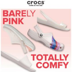 [Crocs Singapore] 【Trending NOW】 Adding a dose of loveliness on comfort… 💗