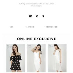 [MDS] Online Exclusive Launch!| 116 Styles to choose from!😍