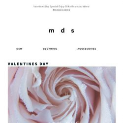[MDS] Take 30% off selected styles for your Valentine's Day date!💖