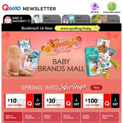 [Qoo10] Baby Spring Sale! Pinkfong Magic Microphone & Baby Shark from $22.90 | Mamypoko Pants + Free Gift @ $50!