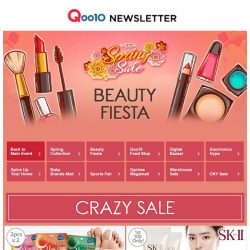 [Qoo10] Beauty NEW in! SK-II Facial Treatment Cleanser at $57.50 | Cocomo Hair Dryer & Volumizer Brush at $45