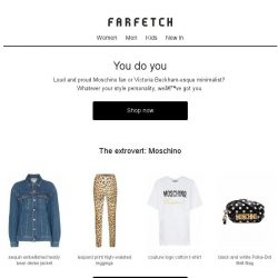 [Farfetch] The designers to buy, according to your personality type