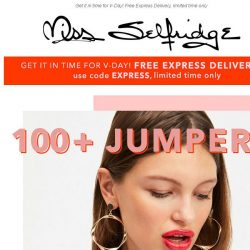 [Miss Selfridge] ❤️ 100+ JUMPERS FOR £15 ❤️