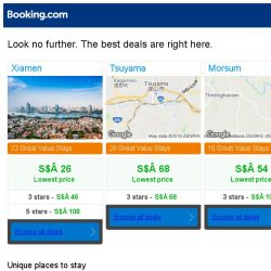 [Booking.com] Prices in Xiamen are dropping for your dates!