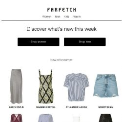 [Farfetch] 450+ new arrivals. You know you want to