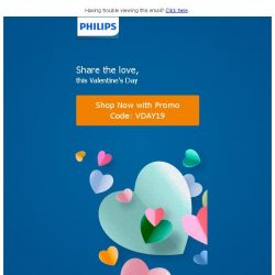 [PHILIPS] Enjoy 30% off Personal Care products this Valentine's