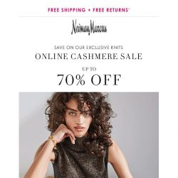 [Neiman Marcus] New styles added to Cashmere Sale!