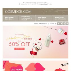 [COSME-DE.com] Love Seaon 💖 Hot Sets are on SALE Shop NOW!