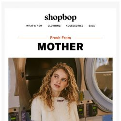[Shopbop] How to make your weekend more fun: MOTHER's latest styles