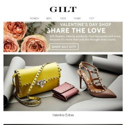 [Gilt] Valentino Extras | Under $100 Contemporary Style
