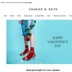 [Charles & Keith] Make Hearts Happy This Valentine's Day